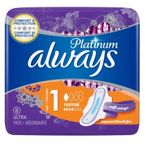 Absorbante Always Platinum Normal 8 Buc