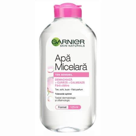 Apa micelara Garnier Skin Naturals pentru ten sensibil 125ml