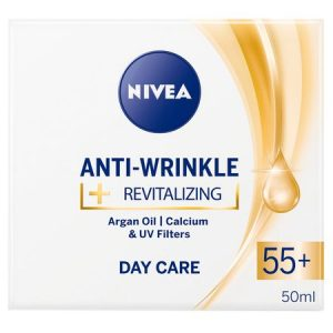 Crema Nivea Anti-rid 55+ de zi, 50ml