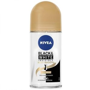 Deo Roll-on Nivea Black & White Invisibile Silky Smooth 50ml