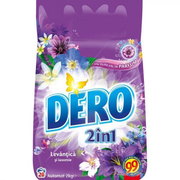 Detergent automat Dero 2 in 1 Levantica si iasomie 2kg
