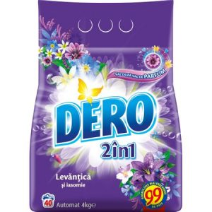 Detergent automat Dero 2 in 1 Levantica si iasomie 4kg