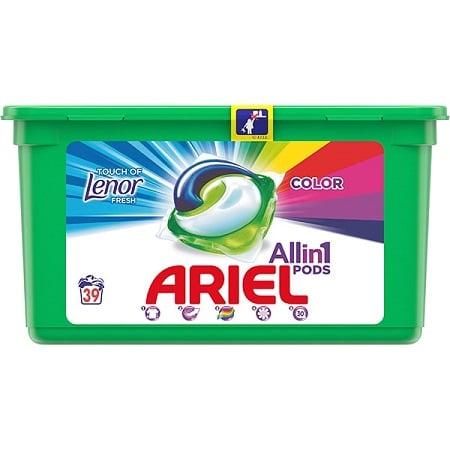 Detergent capsule ARIEL Touch of Lenor 39 spalari