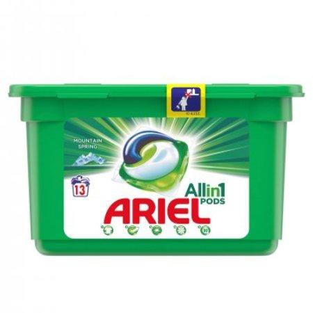 Detergent capsule Ariel Mountain Spring 13 spalari