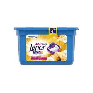 Detergent capsule Lenor Color Gold Orchid 11 spalari