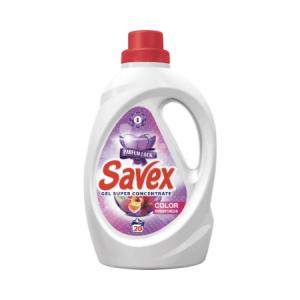 Detergent lichid 1,1 litri Savex Color Brightness