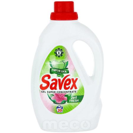 Detergent lichid 1,1 litri Savex Fresh 2 in 1