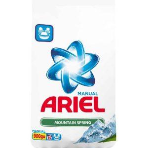 Detergent manual Ariel 900g Mountain Spring