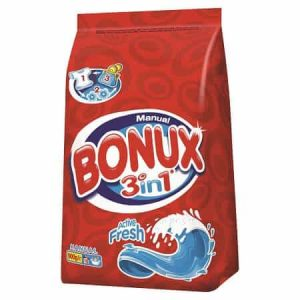 Detergent manual Bonux 3 in 1 Active Fresh 900g