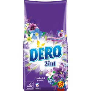 Detergent manual Dero 2 in 1 Levantica si iasomie 1.8kg