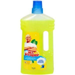 Detergent universal pentru curatat pardoseli 1L Mr Proper Lemon