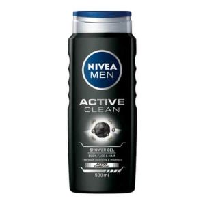 Gel de dus Nivea Men Active Clean 500ml