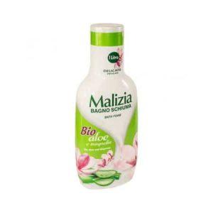 Gel de dus spumant Malizia cu Aloe Bio si Magnolie 1L
