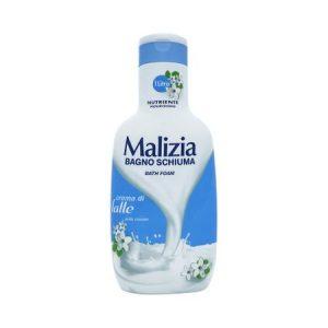 Gel de dus spumant Malizia cu crema de lapte 1L