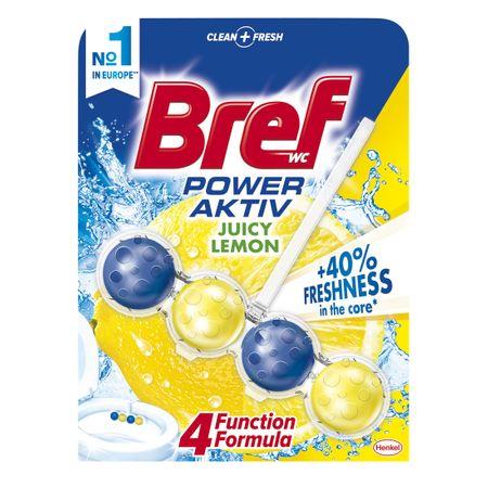 Odorizant toaleta Bref Classic Power Aktiv Juicy Lemon 50gr