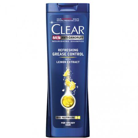 Sampon Clear Men Refreshing Grease Control par gras 400ml