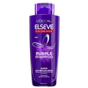 Sampon L'Oreal Paris Elseve Color Vive Purple pentru par blond/gri, 200ml