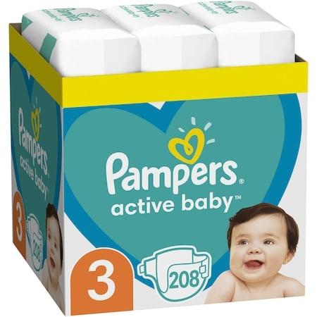 pampars activ baby marimea 3
