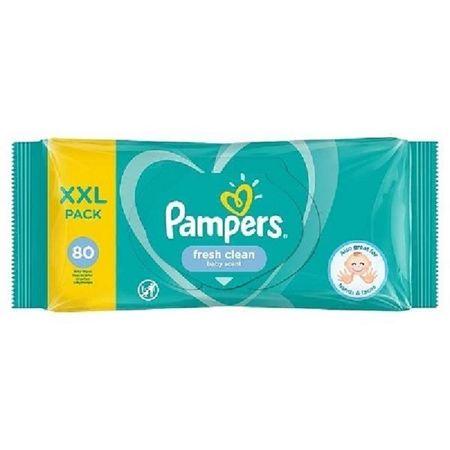 Servetele umede copii Pampers Fresh Clean XXL pack 80buc