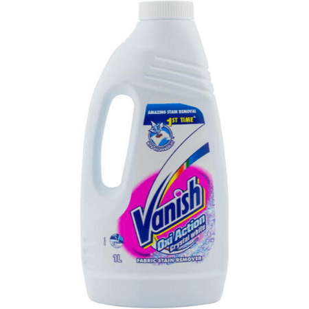 Solutie pentru indepartarea petelor Vanish White 1L