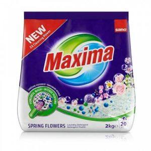Detergent pudra Sano Maxima Spring Flower 2kg