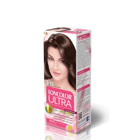 Vopsea pentru par LONCOLOR Ultra 4.15 Ciocolata amaruie