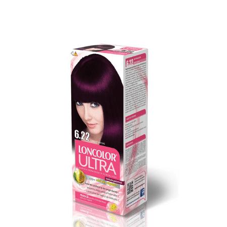 Vopsea pentru par LONCOLOR Ultra 6.22 Violet intens