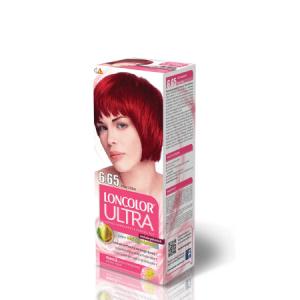 Vopsea pentru par LONCOLOR Ultra 6.65 Rosu coral