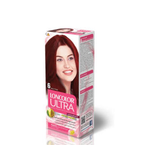 Vopsea pentru par LONCOLOR Ultra 6 Rosu titian