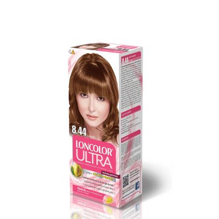 Vopsea pentru par LONCOLOR Ultra 8.44 Caramel
