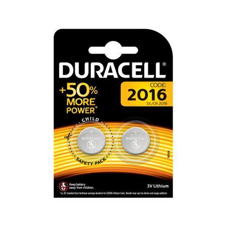 Baterie Duracell CR2016 3V litiu blister 2 baterii