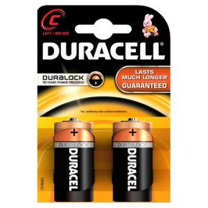 Baterii Duracell Basic C R14 blister 2 baterii