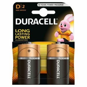 Baterii Duracell Basic D R20 blister 2 baterii
