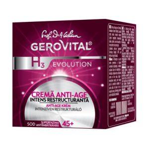Crema anti-age intens restructuranta - GEROVITAL H3 EVOLUTION 50 ml