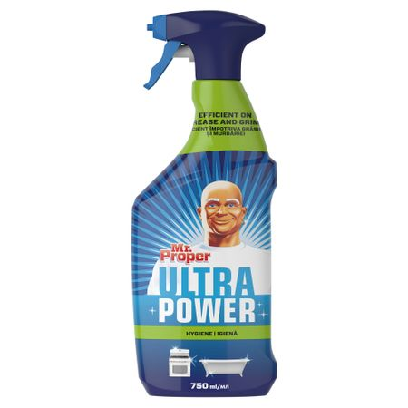 Detergent universal Mr. Proper Ultra Power Spray Igiena 750ml
