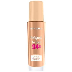 Fond de ten Miss Sporty Perfect to Last 24H 201 Golden Beige 30ml