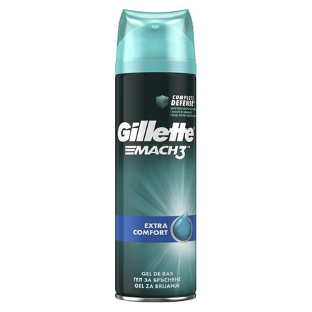 Gel de ras Gillette Mach3 200ml