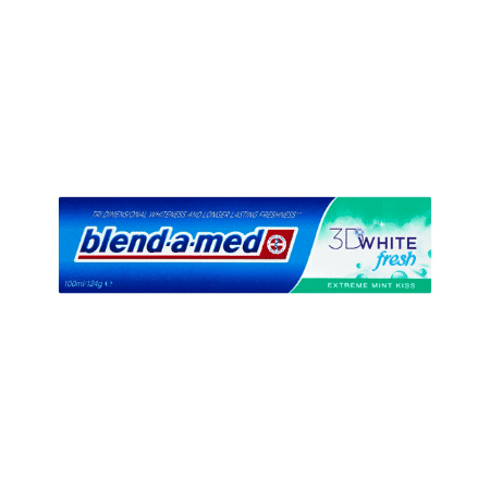 Pasta de dinti Blend-a-med 3D White Extreme Mint Kiss 3D White Fresh 100ml