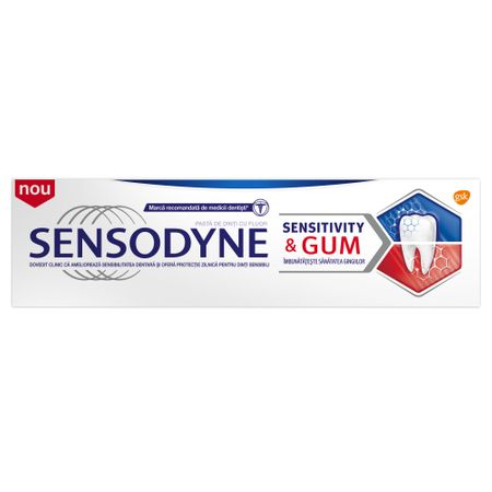 Pasta de dinti Sensodyne Sensitivity and Gum 75ml