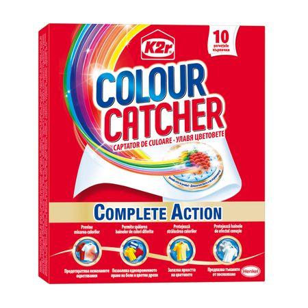 Servetele captatoare de culoare K2r Colour Catcher 10 Spalari