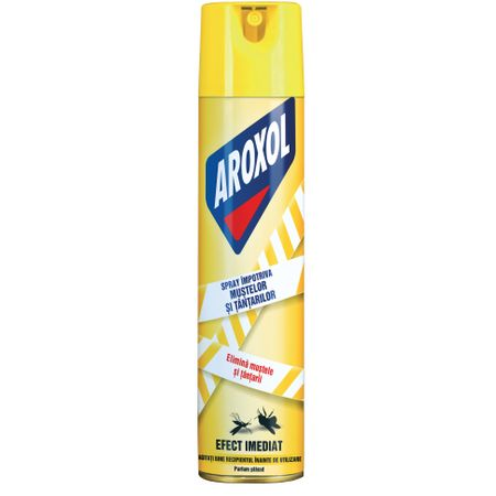 Spray insecticid Aroxol impotriva mustelor si tantarilor 400ml
