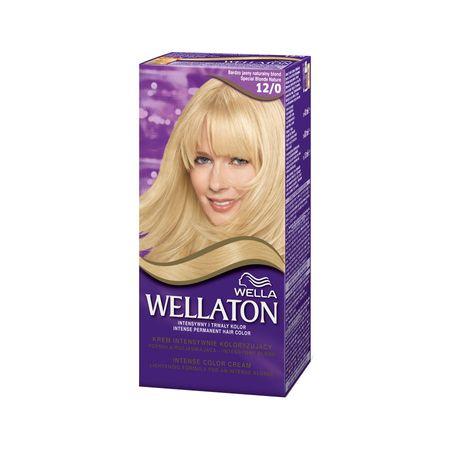 Vopsea de par permanenta Wellaton 120 Blond special luminos 110ml