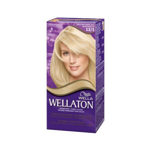 Vopsea de par permanenta Wellaton 121 Blond special cenusiu 110ml