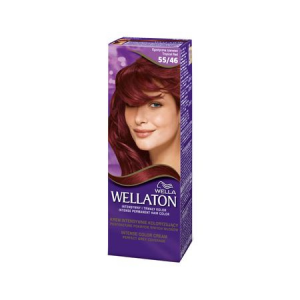 Vopsea de par permanenta Wellaton 5546 Rosu exotic 110ml