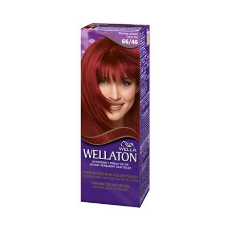 Vopsea de par permanenta Wellaton 66/46 Rosu cireasa 110ml