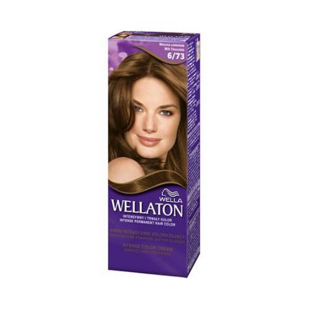 Vopsea de par permanenta Wellaton 6/73 Ciocolata cu lapte 110ml