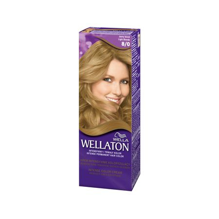 Vopsea de par permanenta Wellaton 80 Blond deschis 110ml