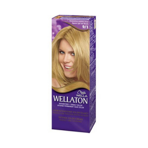 Vopsea de par permanenta Wellaton 91 Blond cenusiu luminos 110ml