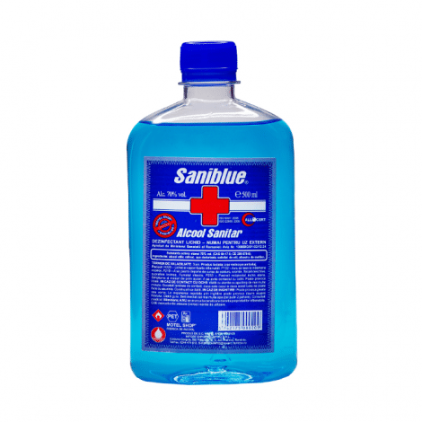 Alcool sanitar dezinfectant